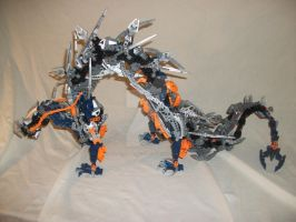 Bionicle MOC: Shui Long 3 by 3rdeye88