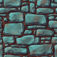 Hand Painted Texture - Final by meeoh