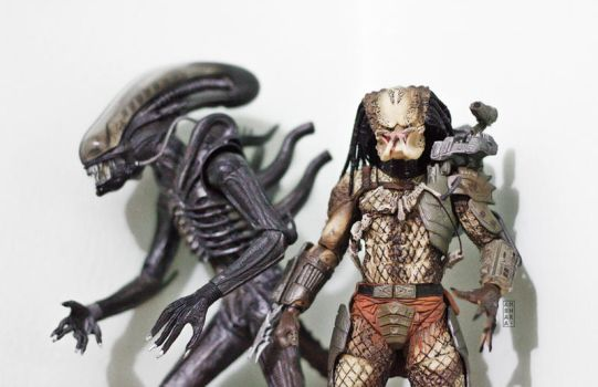 NECA Alien vs Predator by itrenorez
