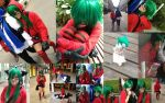photo collage of Gumi by mitchie-p