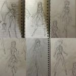 Almost Magical: Enchantix rough sketches  by chocolatesmoothie