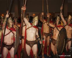 DC2009 - Spartan Warriors by SchroTN