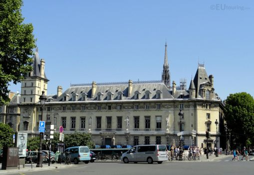 View from Place Saint Michel by EUtouring