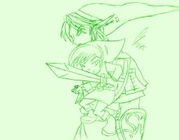 link is forever and ever by goliad