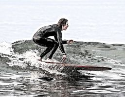 The Surfer by Bartonbo