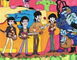 The NEW Yellow Submarine by roseandthorn