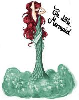 FAIRY TALE GIRLS PROJECT: The little Mermaid by WeleScarlett