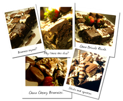 My Choco Chewy Brownies by munchinees