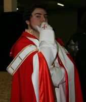 Francesco De Medici Cosplay - Cartoomics 2007 by NekoSamaWorks