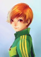 Chie Speed Paint by jehanaruto