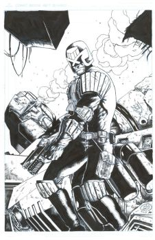 Judge Dredd More Than Meets The Eye Raw by awglasgo