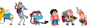 Cartoon Network Battle Crashers Sprites by Broxome