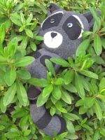 Eco-friendly, Raccoon SOLD by mypetmoon