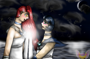 Canopus and Naos: Love at Sea by StefBani