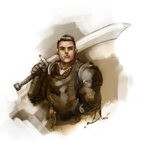 Paladin by DarrenGeers