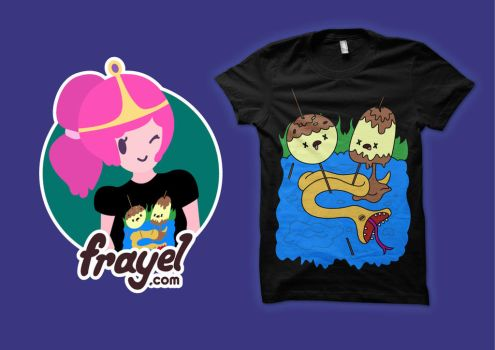 Adventure Time What was Missing T-shirt by supertoki