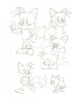 Modern Tails Practice by CharlesBulbmin