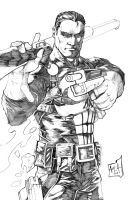 Punisher Pencils by hanzozuken