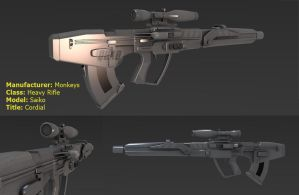 Heavy Rifle: Cordial by QuadRioters