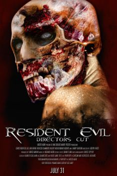 Resident Evil VG Movie poster by dans-obscurite