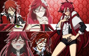 Grell Sutcliff Wallpaper. by DanceInTheFlames-x