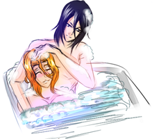 ByaRan- Bath time by TheChick24