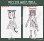 Draw this again! meme by Katielu