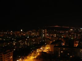 Varna at the night by Mimsss