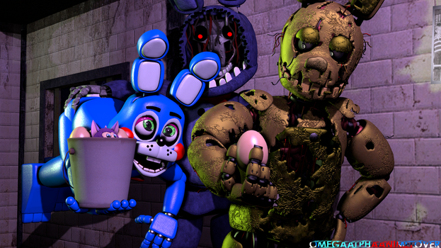 Wrong Eggs To the Wrong Guys. ( SFM/HAPPY EASTER) by OmegaAlphaAnimeLover