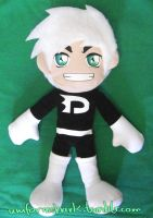 Danny Phantom 17 inch custom plush for sale by Uniformshark