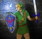 The Castle Calls - LoZ OoT by legendarysmith