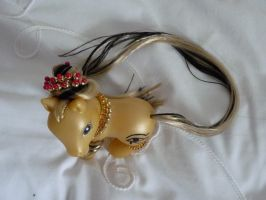 custom my little pony cleopatra 1 by thebluemaiden