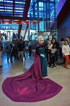 Elsa Coronation cosplay. by Arkenaya