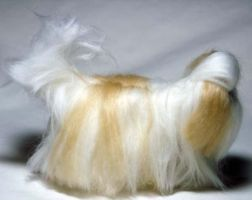 Needle Felted Shih Tzu II by The-GoblinQueen