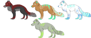 Palette Canines 4 {{ closed by OneOfTheNight