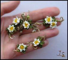 Lotus Pond set by JSjewelry