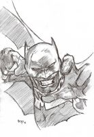 BATMAN Original Art by:JIM LEE by bensonput