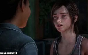 Last-Of-Us-Ellie-Kiss-Gif by kevin4