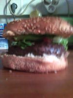 and,yeah,I made another burger by scarabix