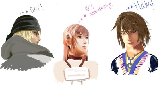 FF13-2 Contest entry by inkdeathLJlover