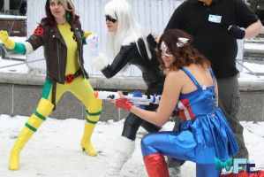 Frostcon 2013 Official - Marvel vs DC 25 by Midnight-Dare-Angel
