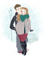 Commission: Baby, It's Cold Outisde by Hyacinth-Zofia