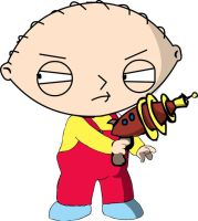 Stewie Griffen family guy by TheGeekyartist