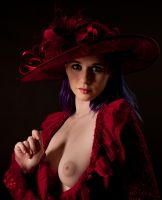 Fluffy Red Hat 2 by MordsithCara