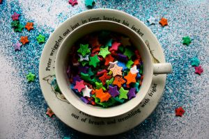 Glitter, Teacups And Stars by Kimmy-The-Fae