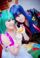 Macross Frontier: A Cherished Moment by twinklee