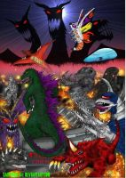 KAIJU ASSAULT POSTER. by SaintNick14