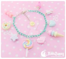 Candy mix Bracelet 2 by CuteMoonbunny