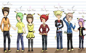 Different Heights by Chickadee-chii