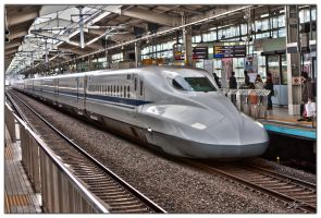 N700-3000 Series Shinkansen by dragonslayero